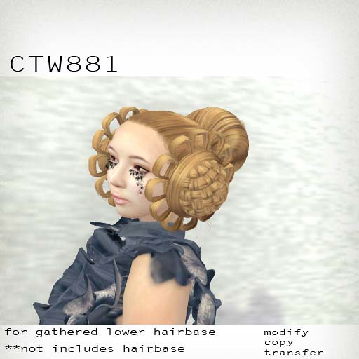 booN CTW881 hair