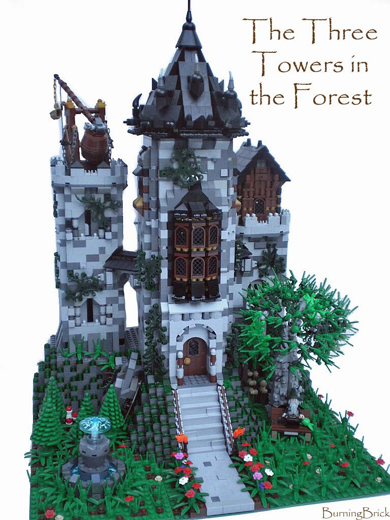The Three Towers in the Forest