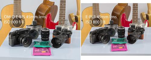 Olympus OM-D E-M5 E-PL3 45mm lens - ISO-800