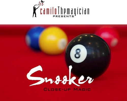 Camilo The Magician: Snooker