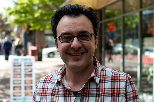 John Catucci, host of You Gotta Eat Here!