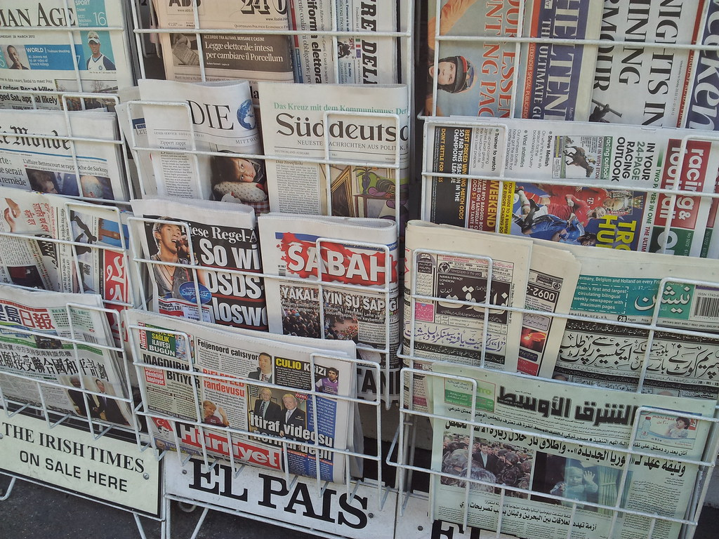 Major world news guides and databases