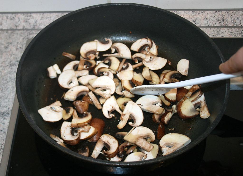 Ριζότο με μανιτάρια champignon