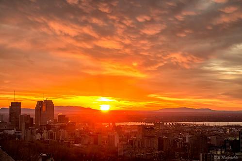 city canada skyline sunrise montréal québec westmount ville leverdesoleil da1650 smcpda1650mmf28edalifsdm panoramaurbain belvédèreduparcsummit