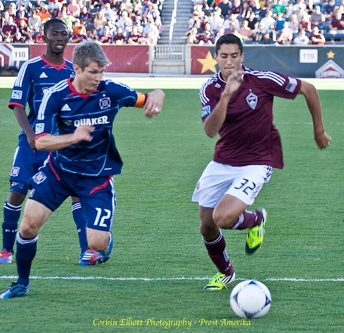 Tony Cascio Colorado Rapids 1 Apr 2012 by Corbin Elliott Photography