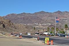 U.S. Route 93 northbound into Boulder City, Nevada