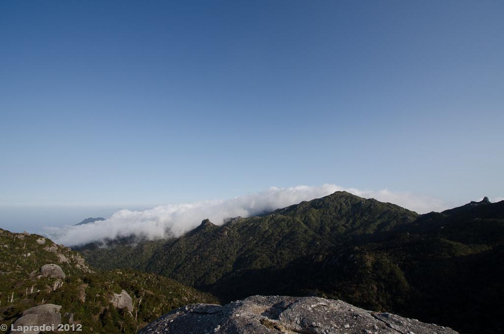 黒味岳山頂からの眺め