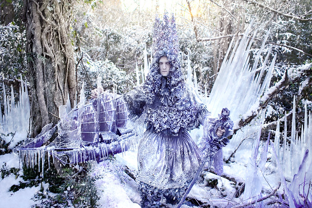 Kirsty Mitchell - Wonderland 'The Thousand Empty Days of a Frozen Heart'