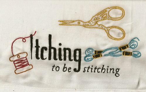 Itching to be stitching for Tara
