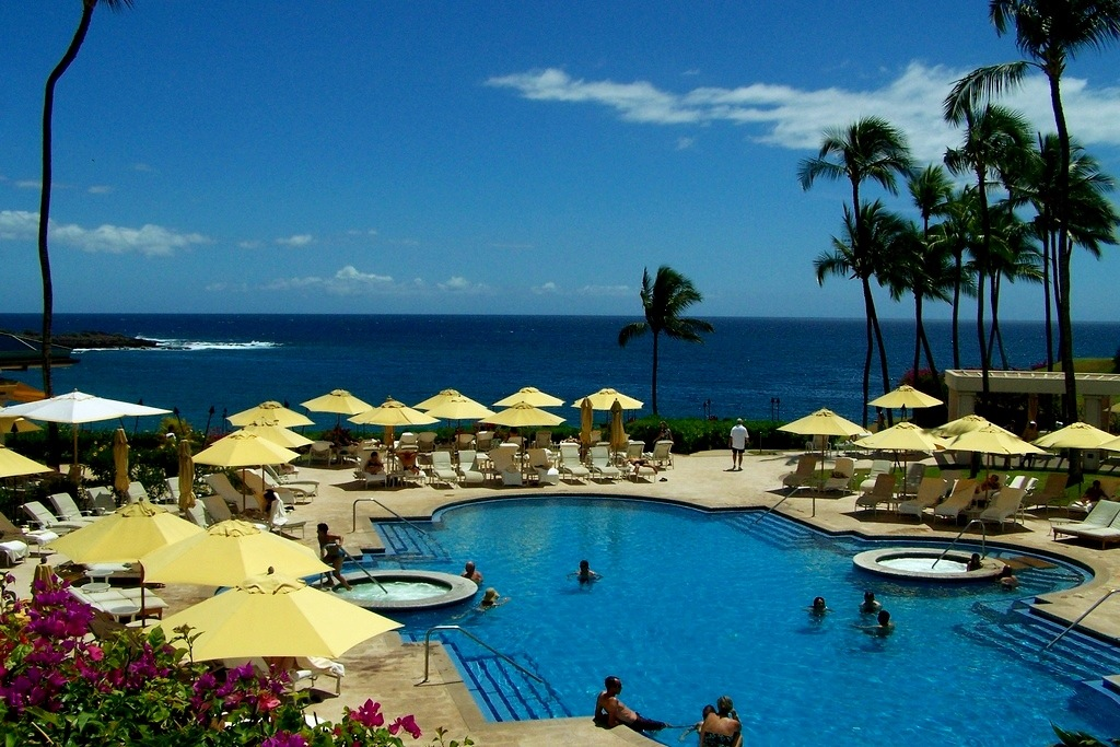 Pool at Four Seasons Manele Bay, Lanai Hawaii