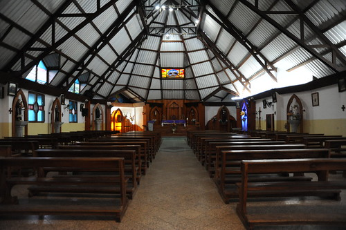 Puerto Ayoraの教会