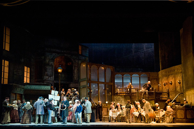 The cast of La bohème © Mike Hoban/ROH 2012