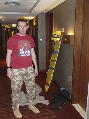 Ed with rescue board