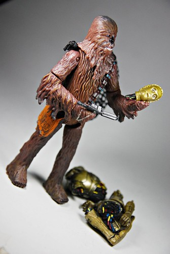 Bespin Chewbacca with C3-P0
