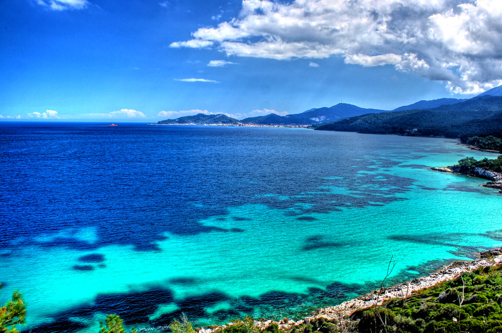 Thasos Greek island
