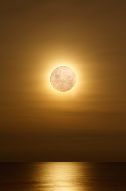 The Brightness of a Supermoon