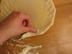 (still) forming crust