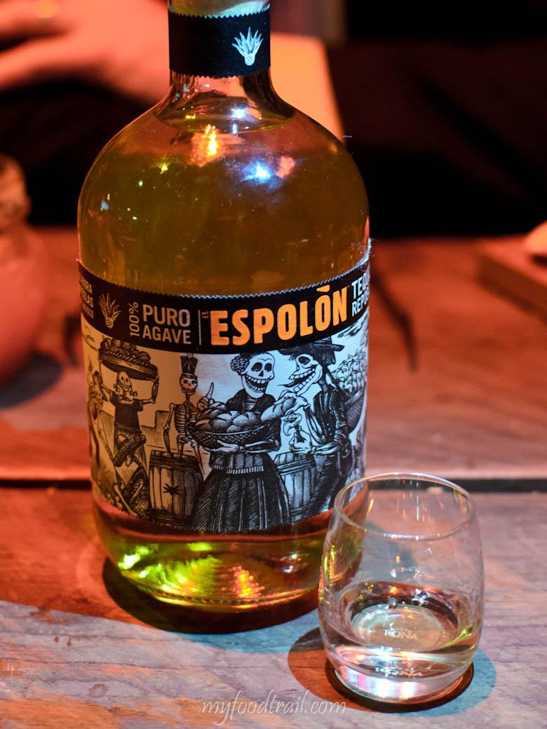 Touche Hombre – Espolon tequila