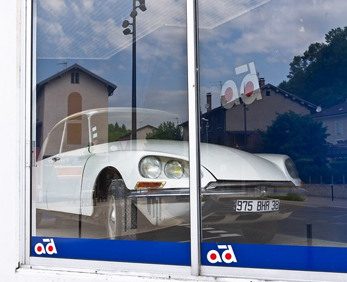 DS en vitrine-Car on display