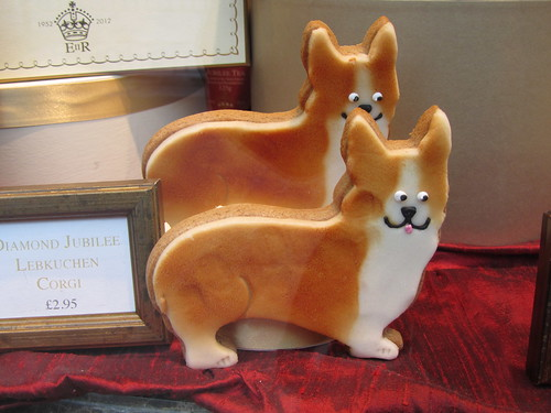 Corgi biscuits at Betty's