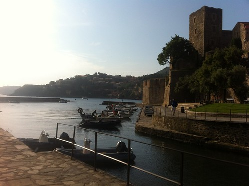Collioure at sunset