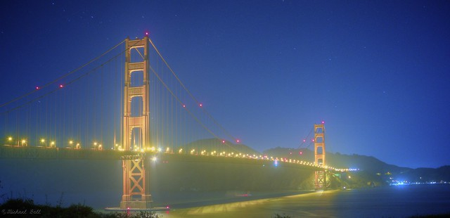 A Night by the Golden Gate Bridge