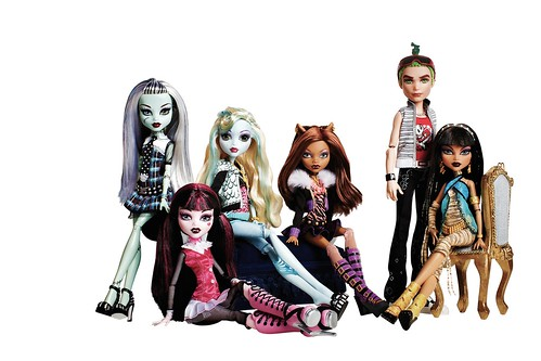 Monster High: Las Simpaticas Hijas de los Monstruos