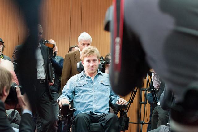 Samuel Koch | Pressekonferenz anlässlich der Vorstellung von ...