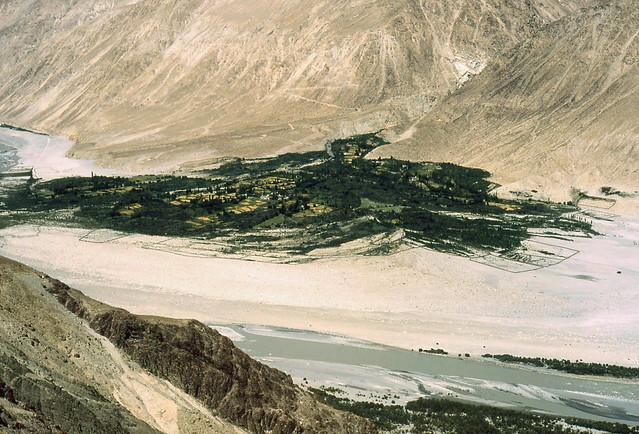 Shyok River Valley