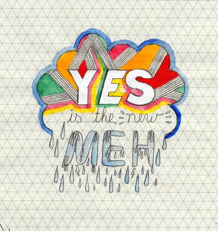 yes is the new meh rough