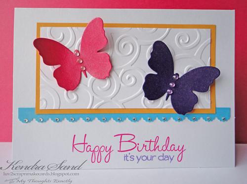 Luv 2 Scrap n Make Cards Happy Birthday Alyssa