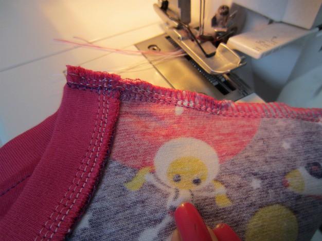 7 shoulder sewn