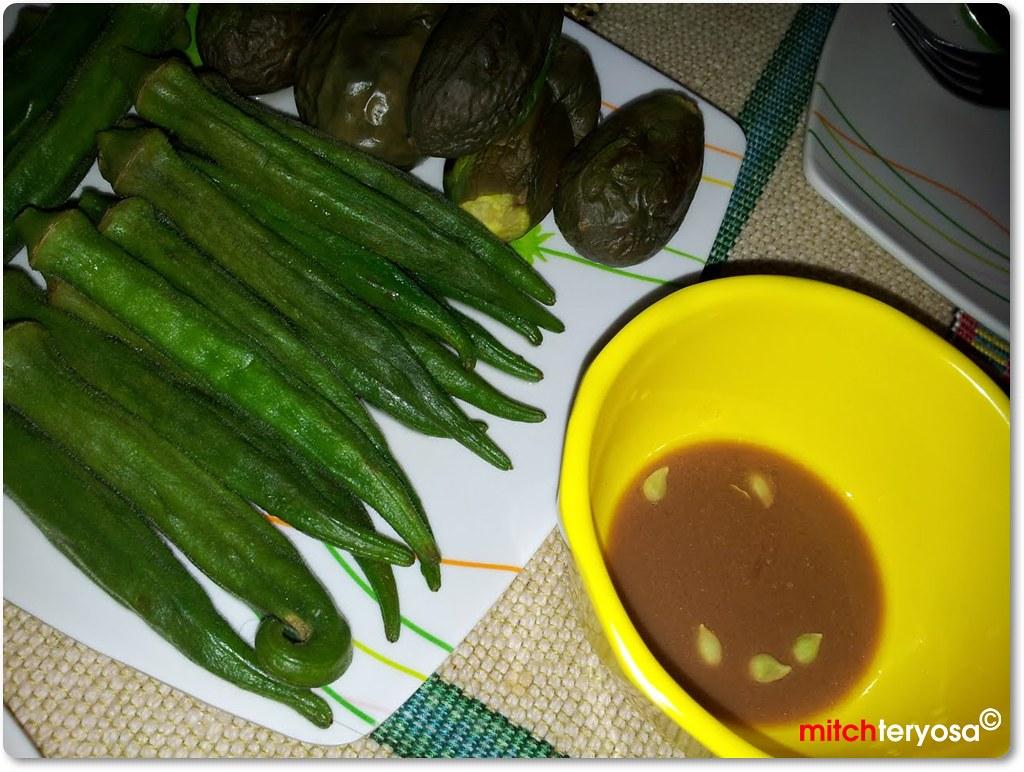Okra and talong