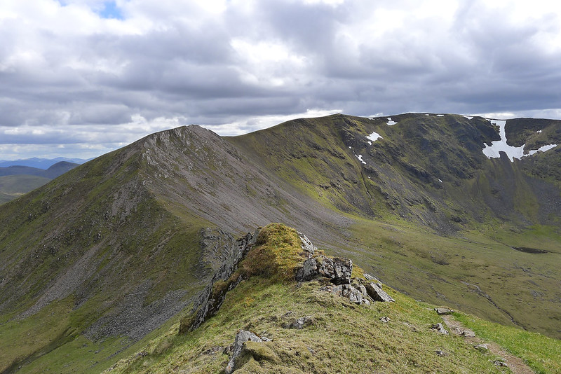 The ridge to Beinn Eibhinn