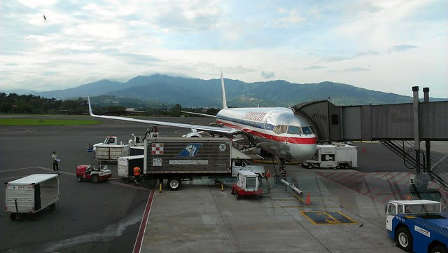 San Jose airport, Costa Rica