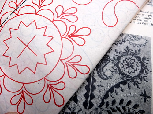 Japoneira - design sheet and embroidery
