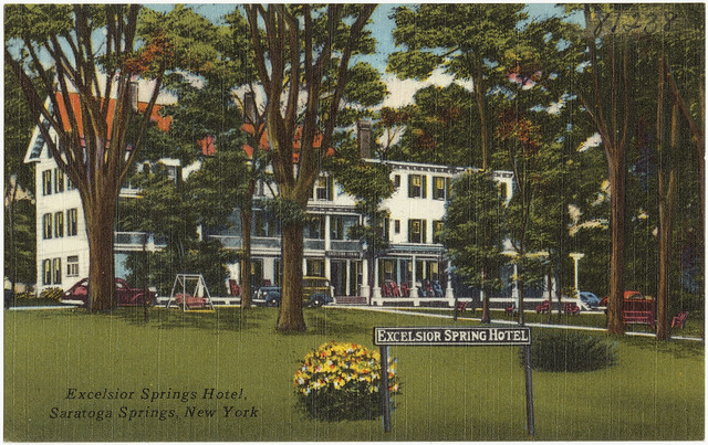 Excelsior springs hotel saratoga springs new york for Hotels saratoga springs new york
