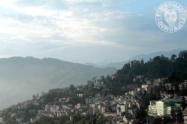 My First Impression of Gangtok, Sikkim