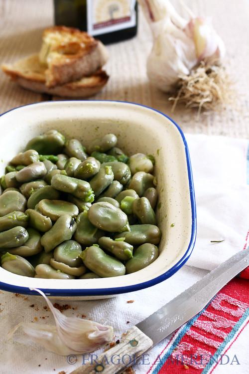 fave all'aglio fresco