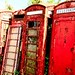 Telephone Boxes, Somerset 2012