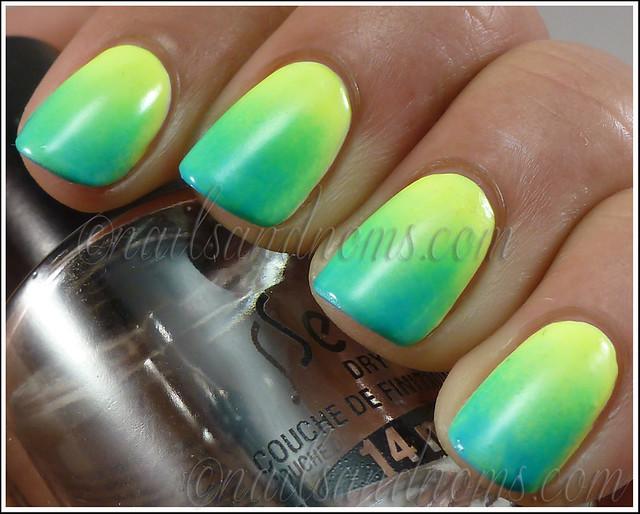 Gradient - Orly Skinny Dip & Glowstick