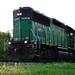 Rarely Used Rail - Engine Close Up