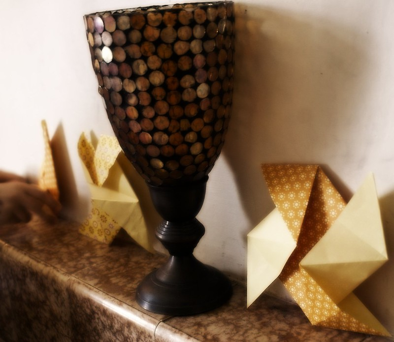 origami pinwheels