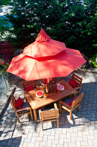 Trend When I spotted this spice colored pagoda umbrella I stopped dead in my tracks because it was just perfect for the patio and Japanese inspired garden we