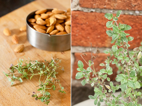 Almonds and Thyme