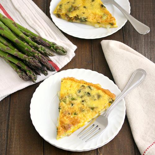 Asparagus and Gruyère Frittata