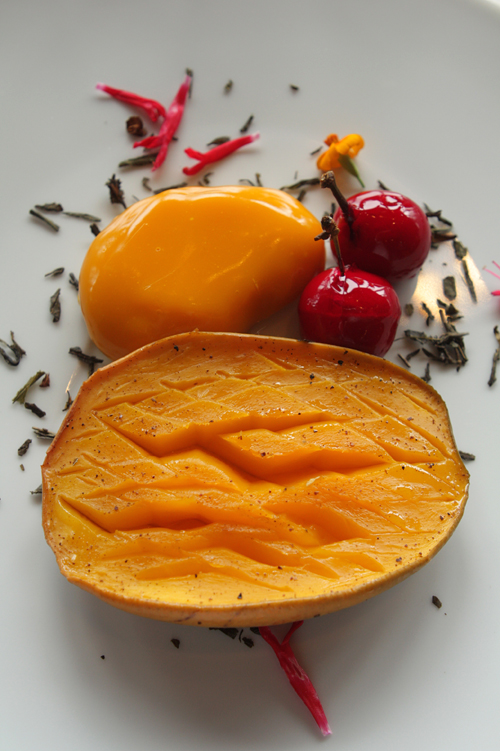 roasted mango