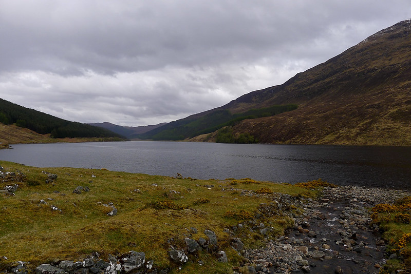Looking east down Loch Beannacharain