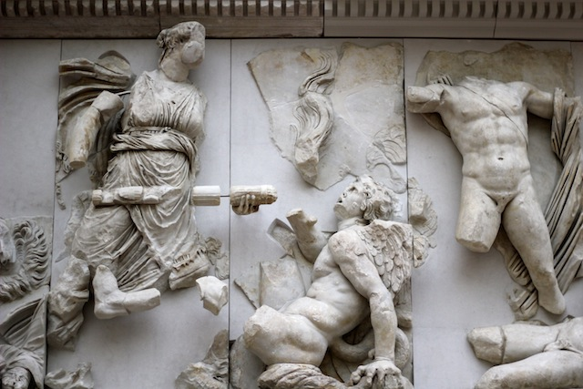 Leto Pergamon Frieze