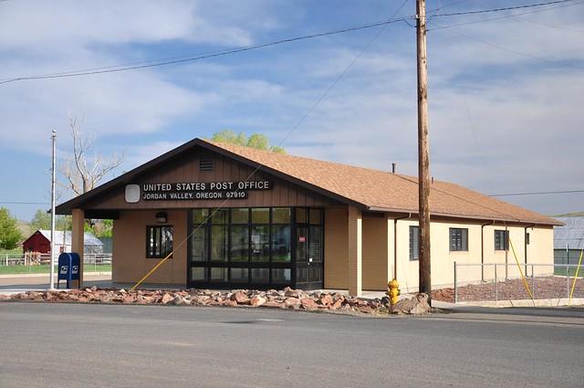 Jordan Valley post office